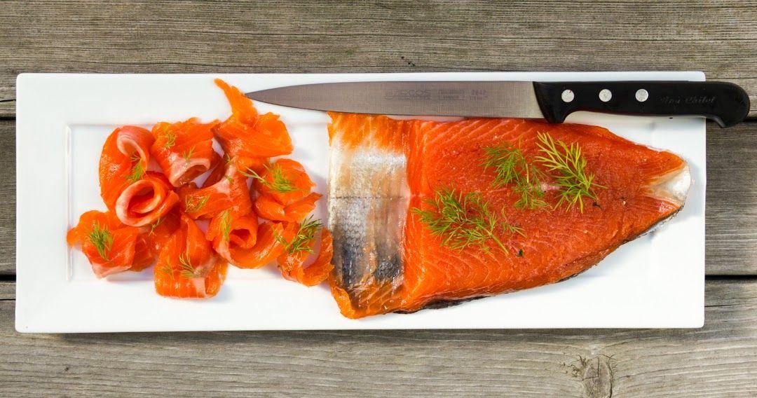 Recetas de Navidad - Como hacer salmon marinado en casa - Receta paso a paso - Recetas paso a paso con fotos - Cocina Con Poco