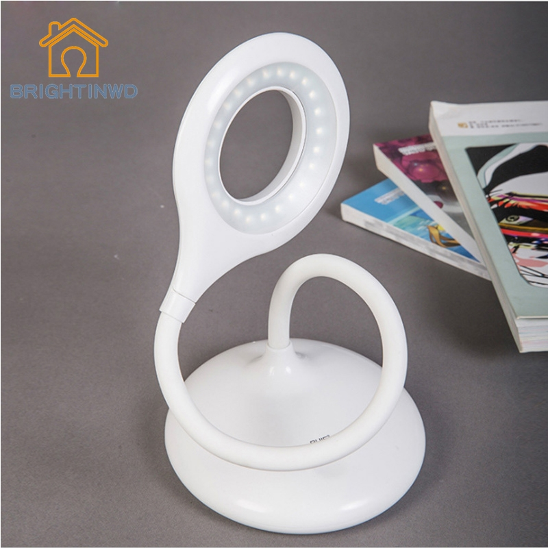 31.32$  Watch now  - 2016 Newly Modern Adjustable USB Rechargeable Touch switch Sensor LED Desk Light  Table Lamp for Bedroom