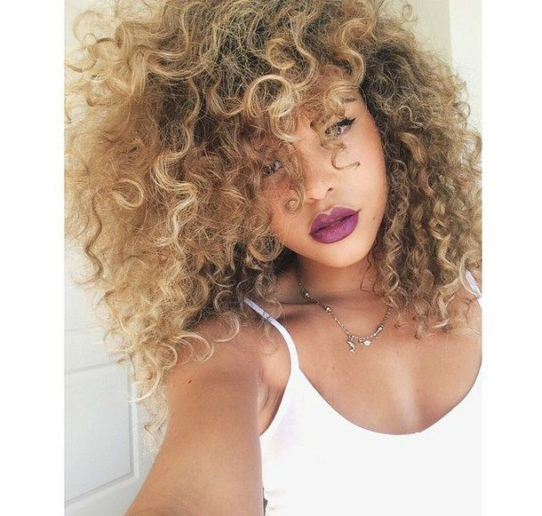 Curly Hair Swag | via Tumblr - image #16 by miss_dior on ...