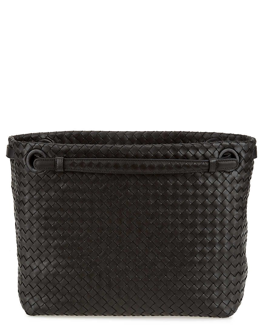 d28a4e86f413c Bottega Veneta Intrecciato Nappa Bag Wallet  Makeupcase  MirrorWomen ...