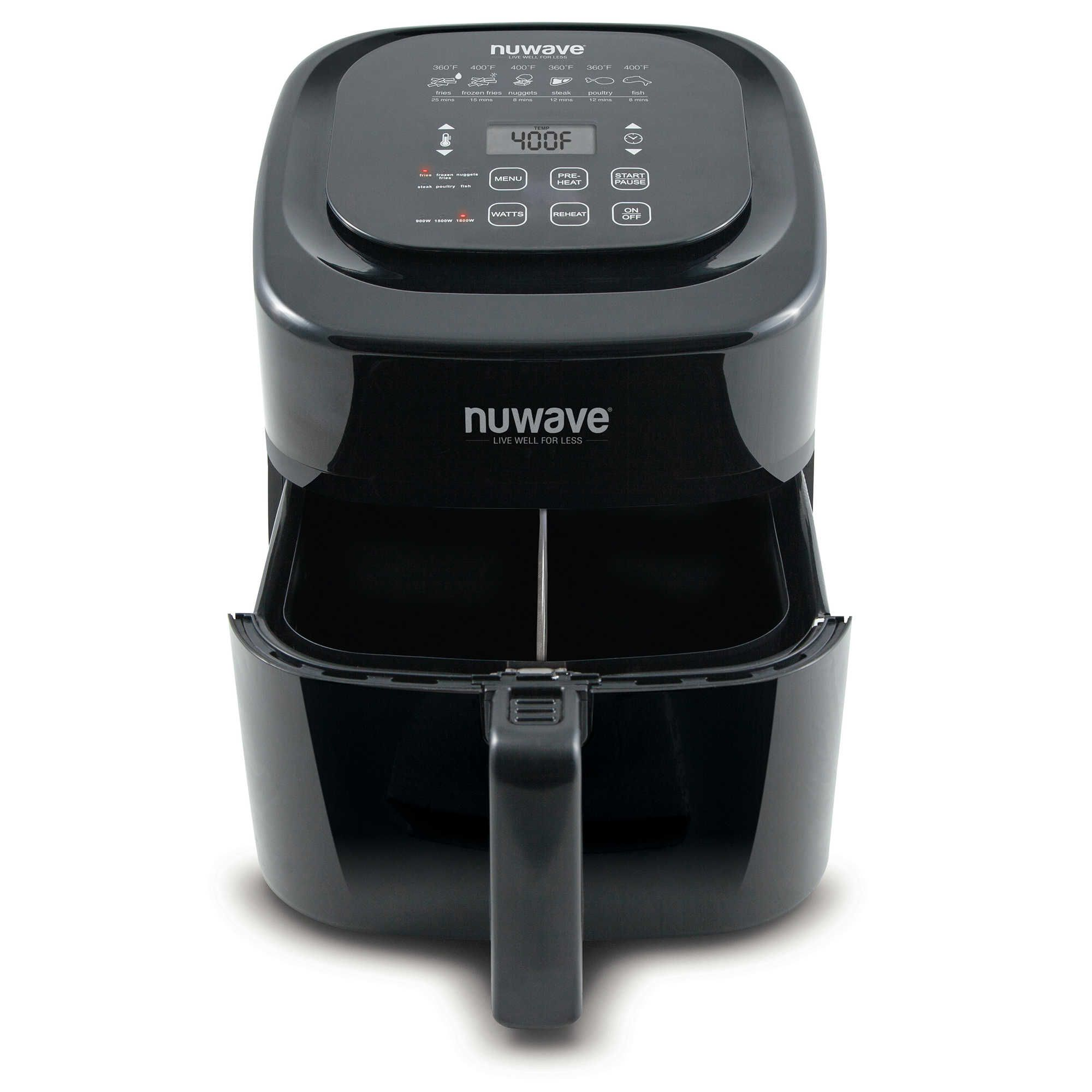 NuWave® 6 qt. Airfryer in Black Nuwave, Fryer