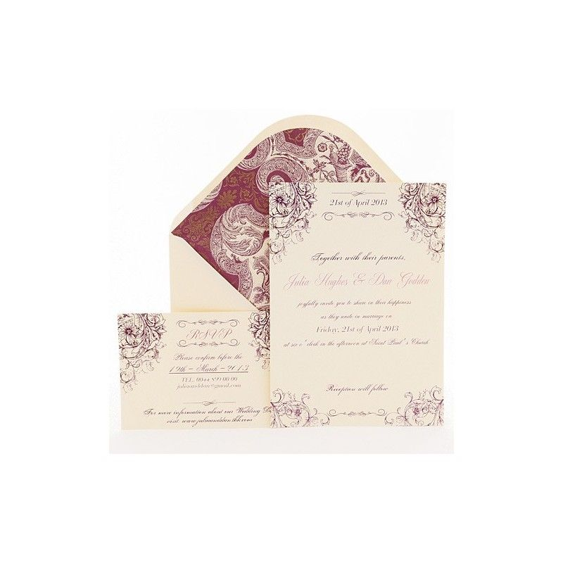 Invitation Envelope Sizes Chart Letterpress Wedding Invite