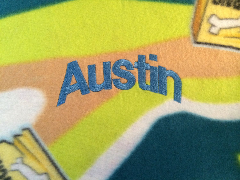 SCOOBY Doo Personalized Kids Fleece Throw Blanket - Monogrammed