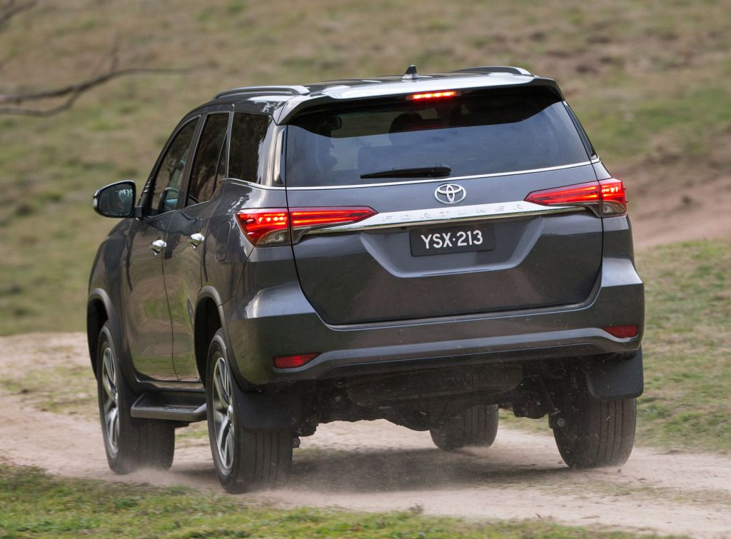 Toyota Fortuner Crusade AUspec (AN160) '2015н.в. Suv