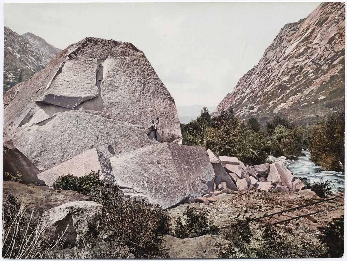 Temple Quarry Little Cottonwood Canyon Utah No 53421 Cottonwood Canyon Brick Mason Utah