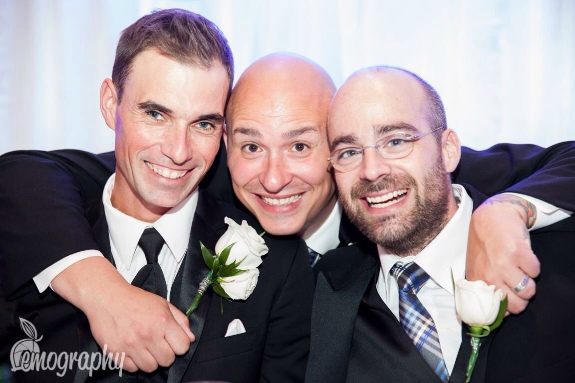 Groom has to have his boys! #nicolelemphotography #wedding #ring ...
