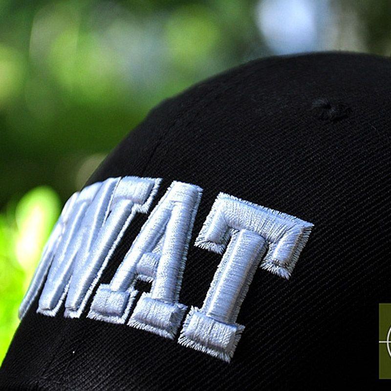 HAN WILD Brand New Hot Sell SWAT Caps UV Color Black Tactical Baseball Cap  Men Women Gorras Snapback SWAT Caps 178e841ea