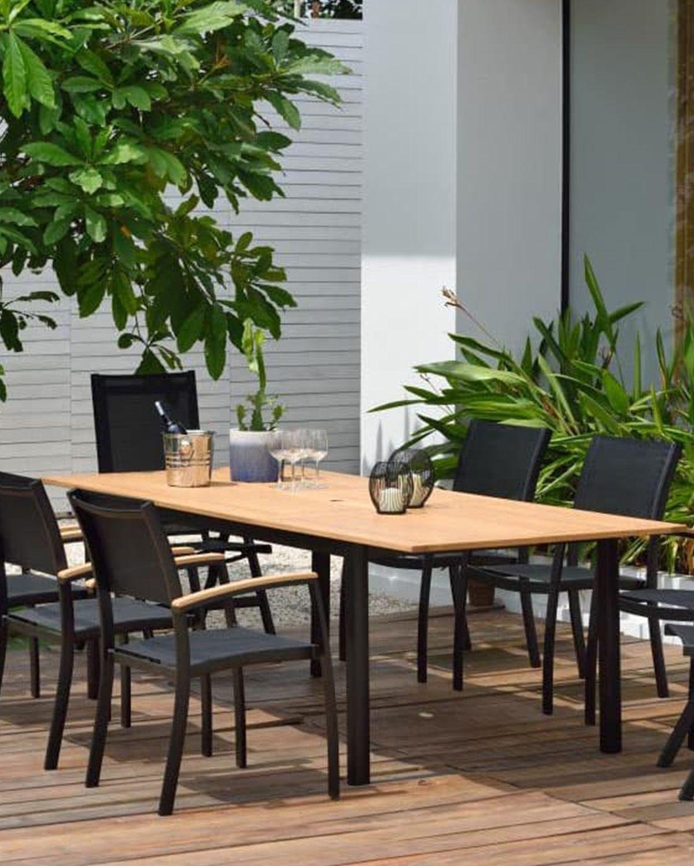Lifestylegarden Tarragona Calanda Gartenmobelset 9 Tlg Batman Black Gartenmobel Sets Gartenmobel Zimmerpflanzen