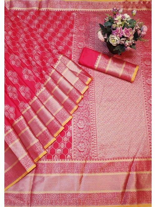 1550 Free Shipping SKU  gnp005766  Banarasi Silk Saree Jacquard With Rich Pallu  1550 Free Shipping SKU  gnp005766  Banarasi Silk Saree Jacquard With Rich Pallu  Visit No...