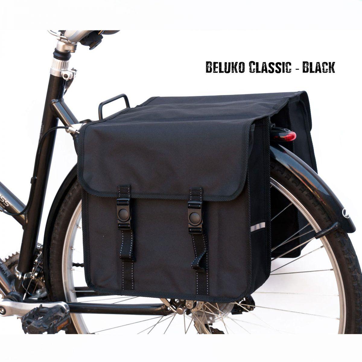 Bicycle Bike Plastic Water Resistant Double Storage Travel Pannier Bag