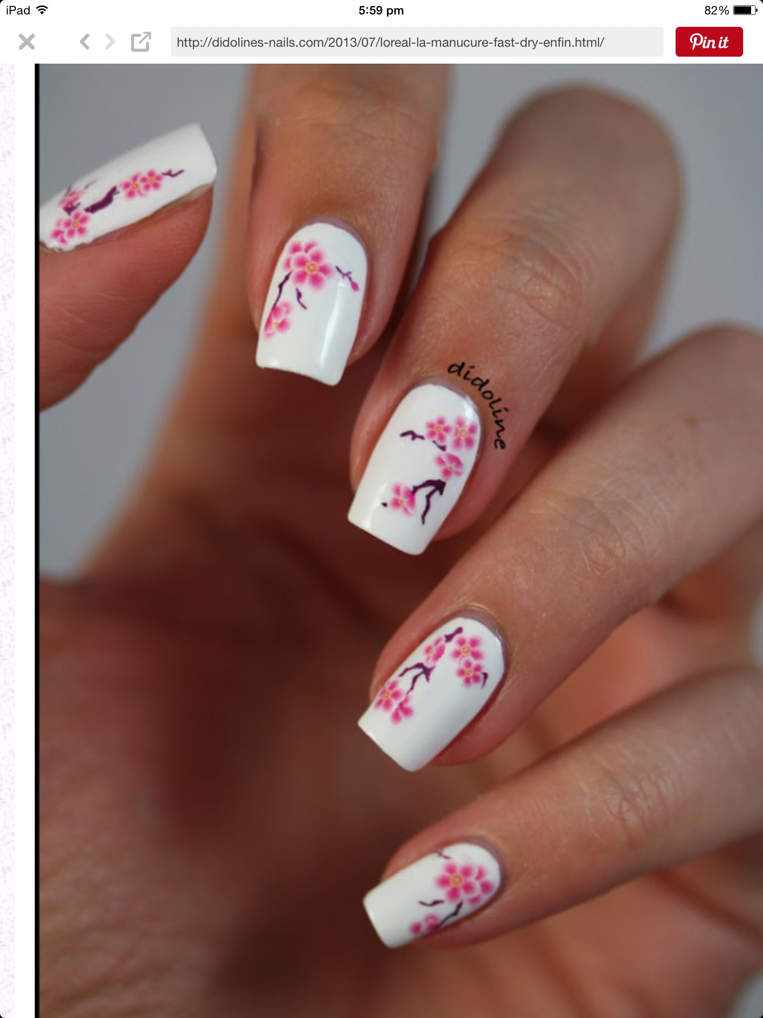Decal Nailart