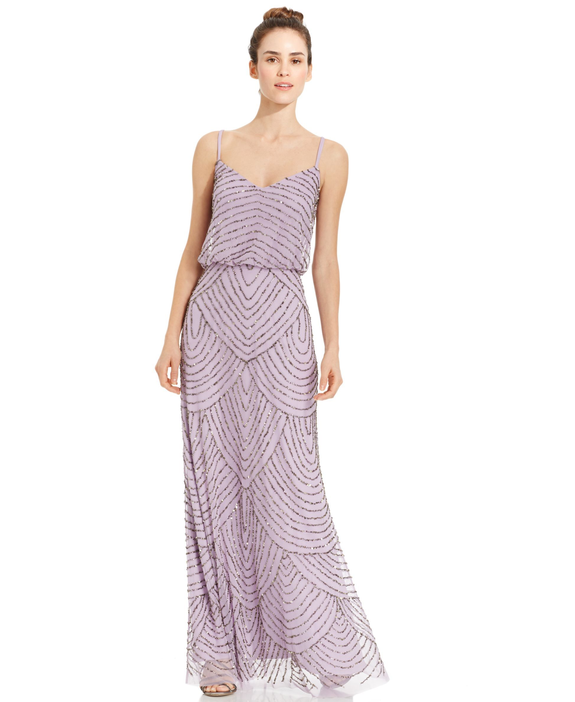 Adrianna papell beaded blouson gown adrianna papell gowns and bodice