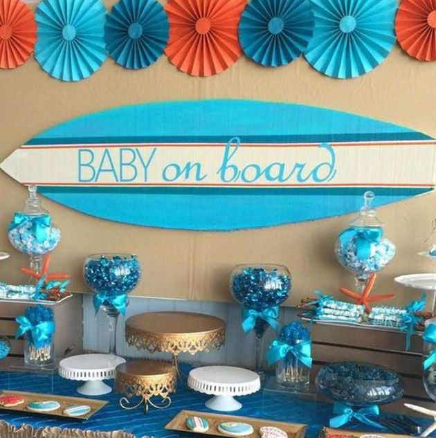 Decoraci n baby shower 57 fotos e ideas para la fiesta for Decoracion de bebes