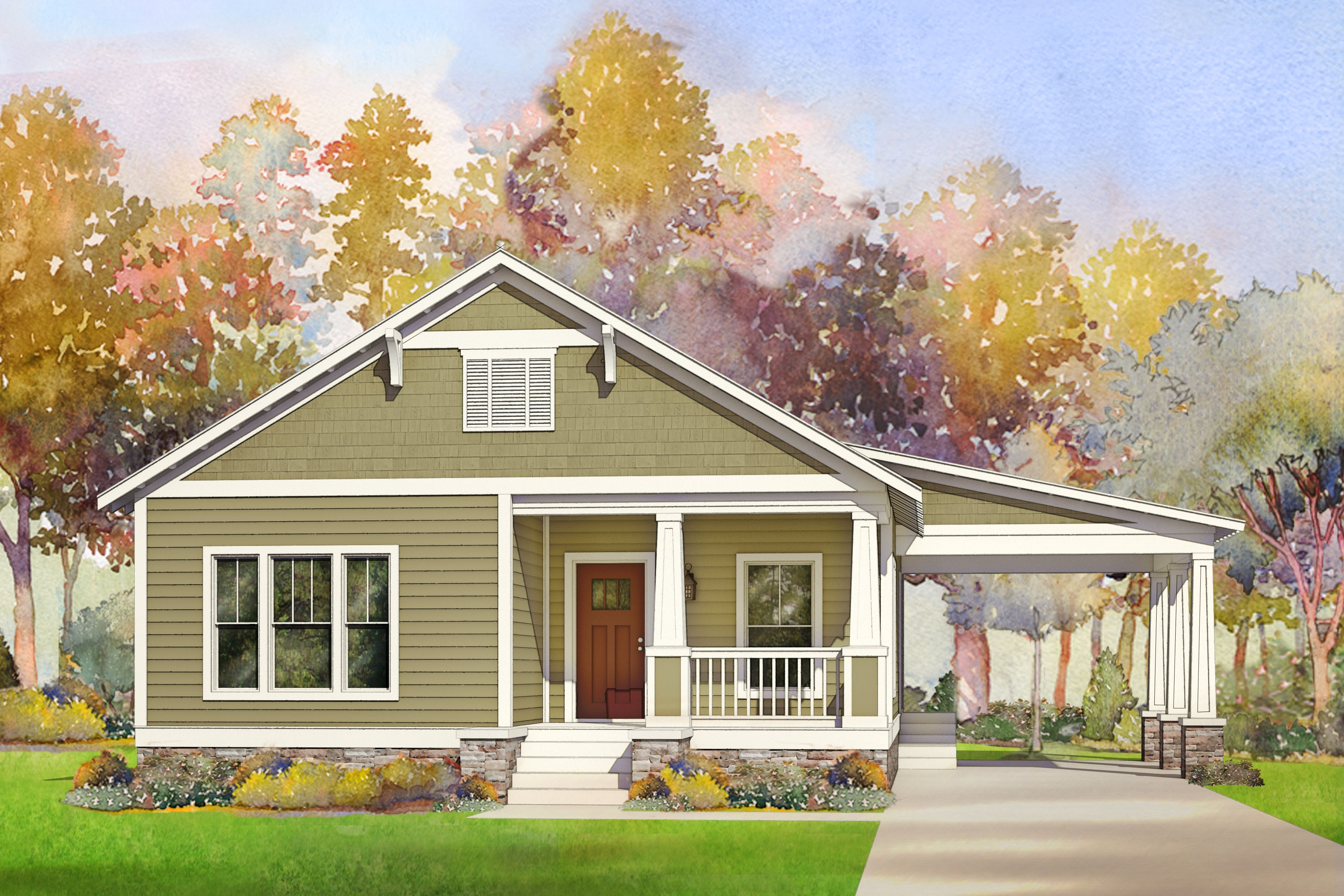 The Wickliffe Rendering By Affinity Building Systems In Lakeland Ga