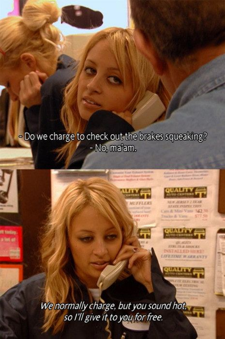 18 The Simple Life Screenshots That Are Even Funnier Out Of Context Paris And Nicole Simple Life Paris Hilton Quotes