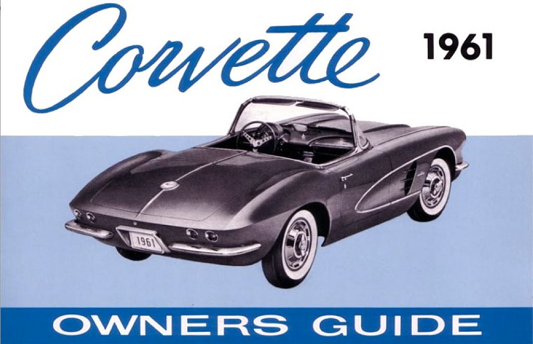 1961 corvette owners guide ride sally ride pinterest 1961 rh pinterest com corvette owners manual 2014 corvette owners manual case