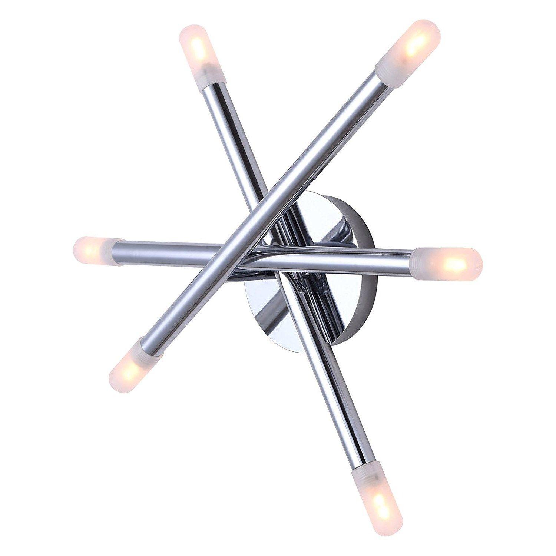 Canarm Lighting Ivl583a06ch9 Mina 6 Light Vanity In Chrome