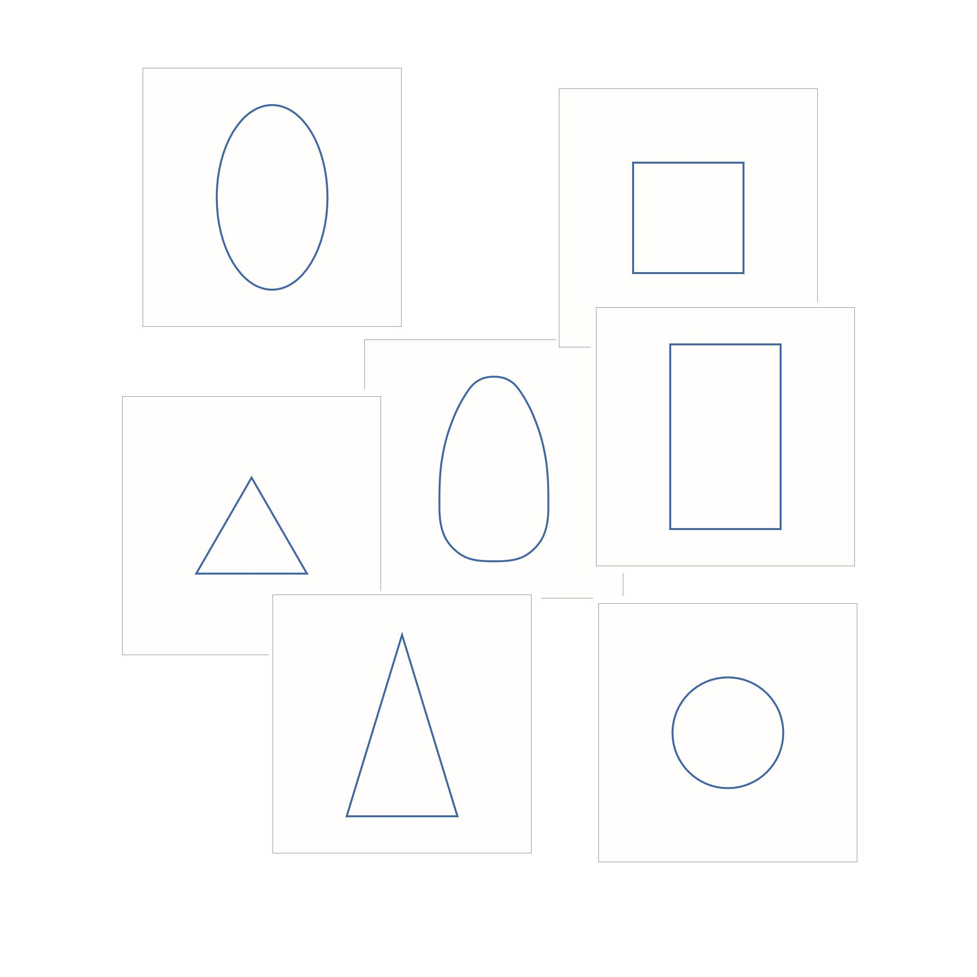 Geometric Solid Cards Download