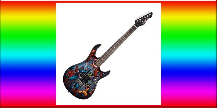 Peavey Rockmaster Marvel Avengers Electric Guitar