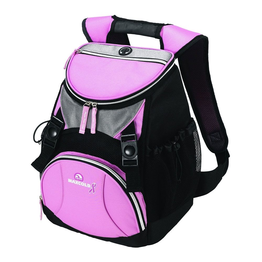 By Igloo Pink Ribbon Backpack Pink Pink Ribbon Pink Backpack Pink
