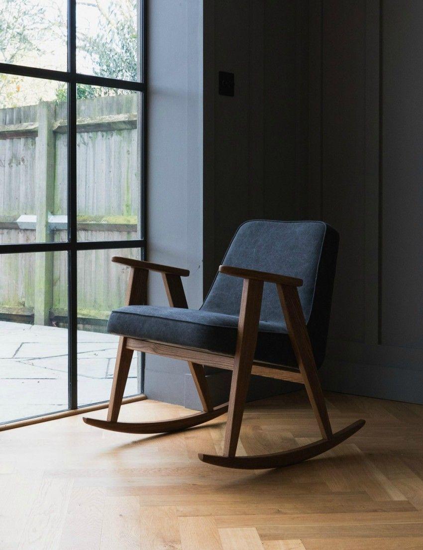 Jozef Chierowski 366 Rocking Chair Denim at