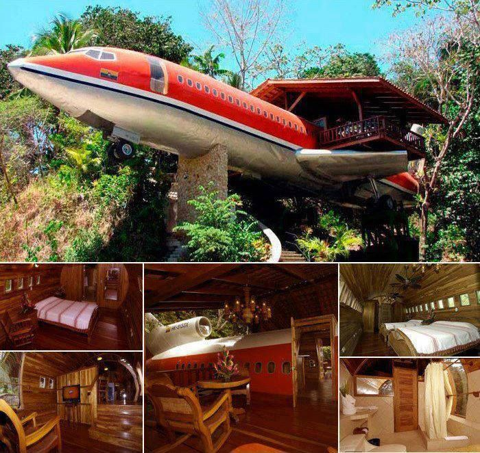 Pin By Maria Joseph Matthew On Fab Houses And Weird Houses Amazing Buildings Airplane House Architecture