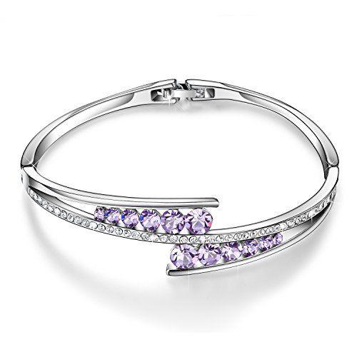 Silver Bracelet 925 Sterling Silver Blue Sapphire Bracelet,Charm Bracelet Gift For Her Blue Sapphire Bracelet For Women Anniversary Gift