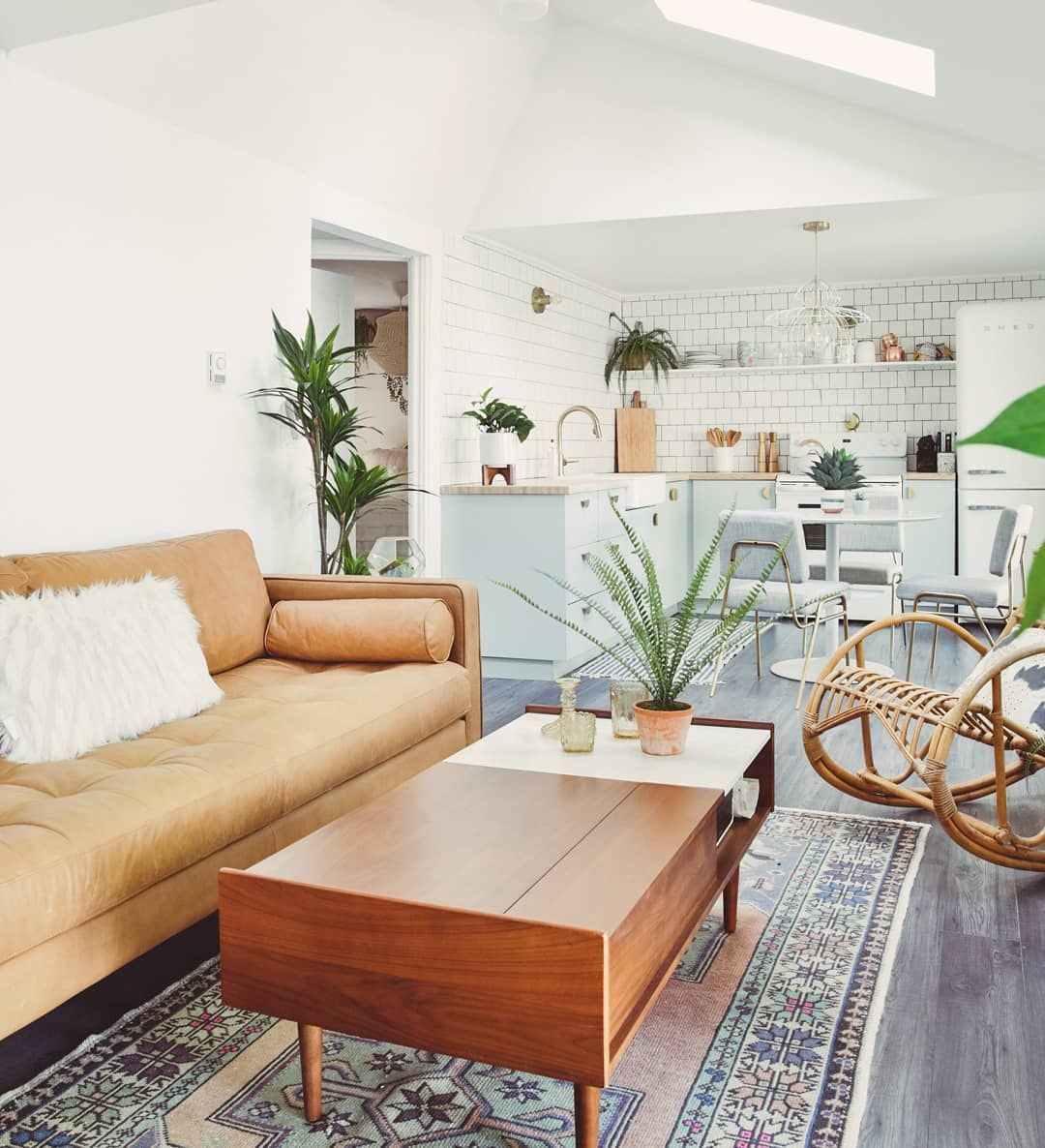 Boho Bungalow On Instagram Officially On Airbnb For Select Dates Book For 3 In 2020 Rugs In Living Room Small Living Room Design Interior Design Living Room Modern