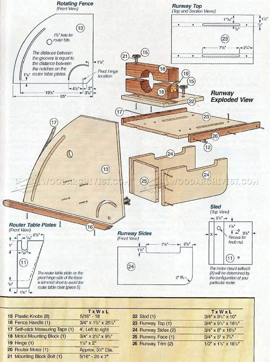 Horizontal router table plans router table plans router table 292 horizontal router table plans router keyboard keysfo Gallery