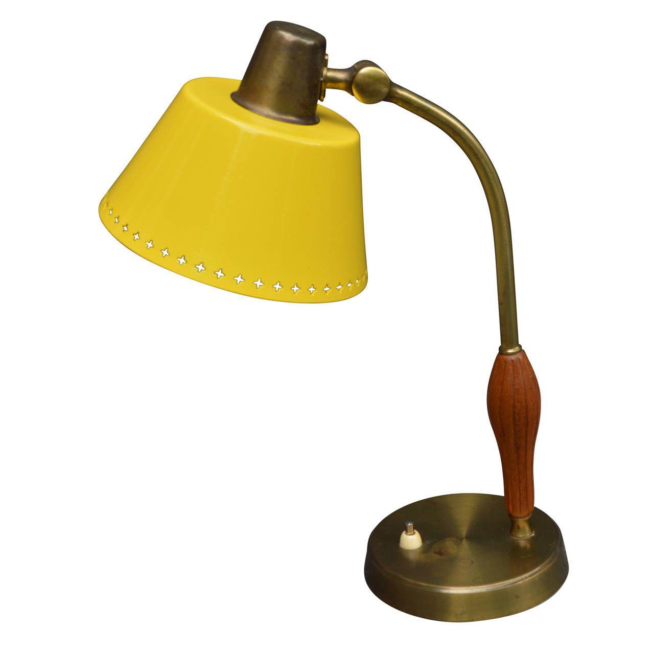 Swedish Mid Century Desk Lamp