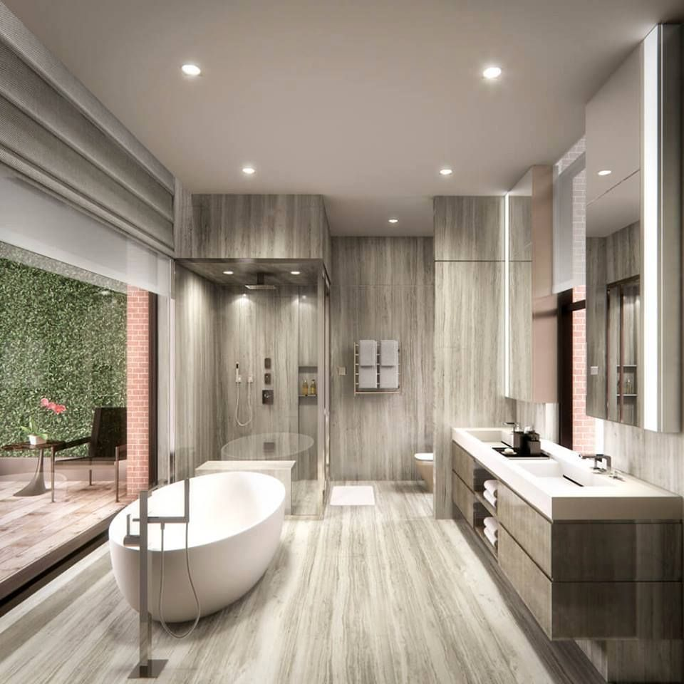 Awesome Bathroom Decorating Ideas With Modern Interior Concepts