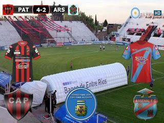 Primera Division 2016/17 15º Fecha: Patronato (Parana) 4-2 Arsenal (Sarandi)