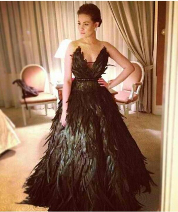 Rajo Laurel Feather Gown | Chic Gowns | Pinterest