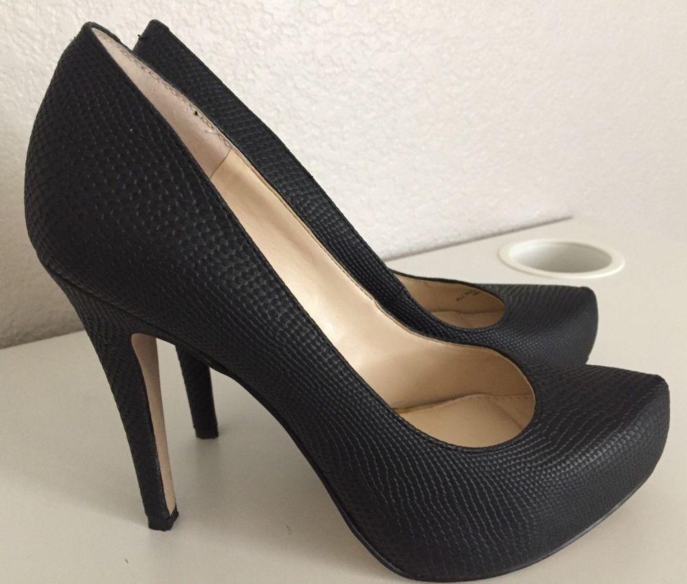 1cf50d86a16 Jessica Simpson Parisah Snake Embossed Platform Pumps 7M 37 Women s Shoes