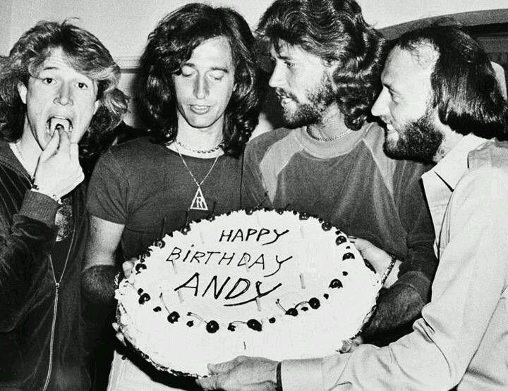 Happy birthday ANDY GIBB