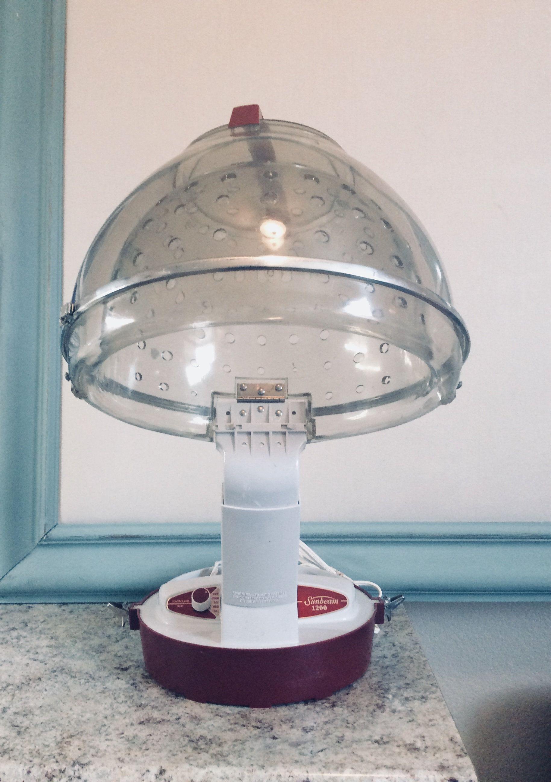 Vintage Hair Dryer, Lady Sunbeam 1200, Tabletop Hair Dryer By VinnysVault  On Etsy