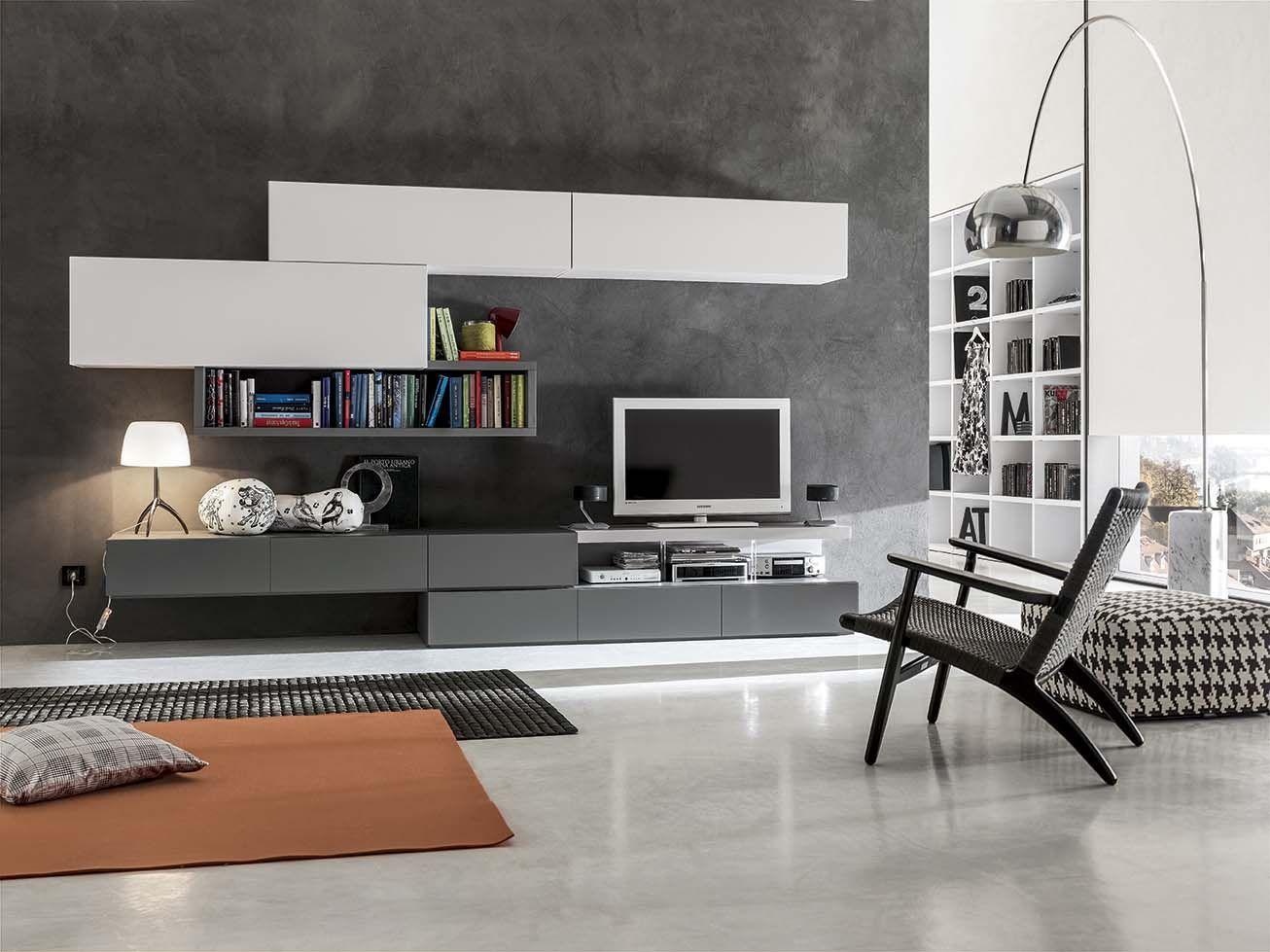 Geometrie moderne, superfici raffinate: living serie Obi di ...