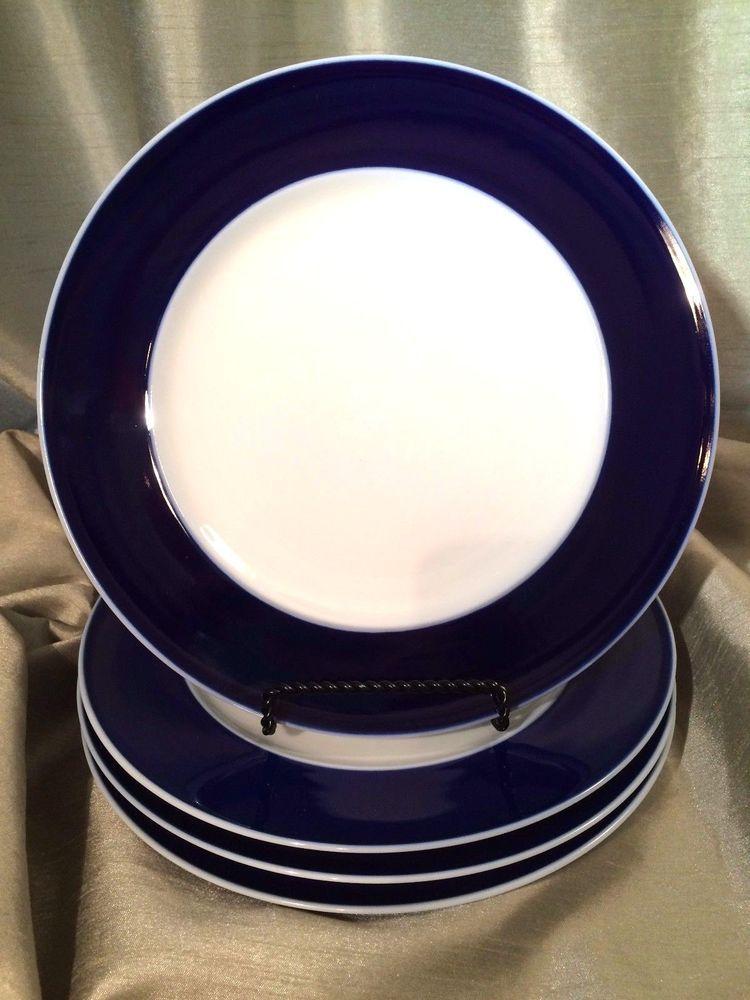 Rosenthal China \u0026 Dinnerware | eBay. White Dinner PlatesDinner ... & Rosenthal Germany Secunda Cobalt China Blue \u0026 White 9 7/8\