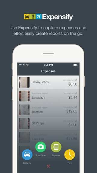 Expensify - Expense Reports, Receipts, Mileage, Time Entry, Travel