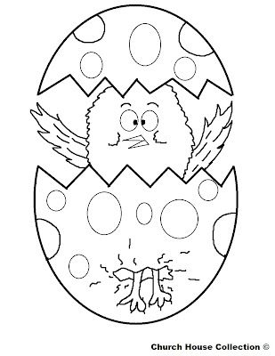 Easter Chick Coloring Page Chicks Pinterest Easter Easter