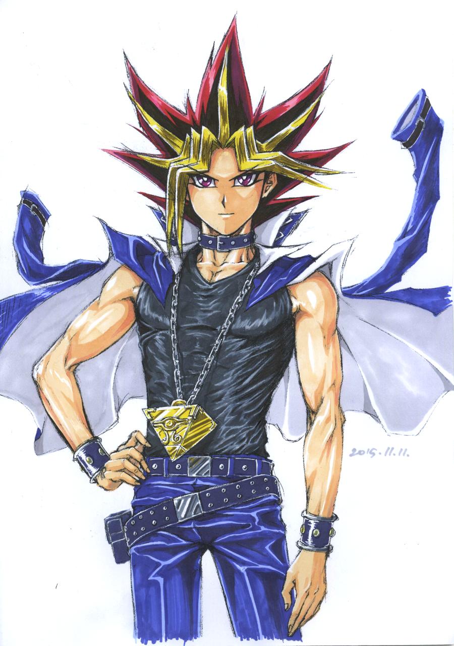 Mr. Pharaoh (colored) by Ycajal.deviantart.com on @DeviantArt