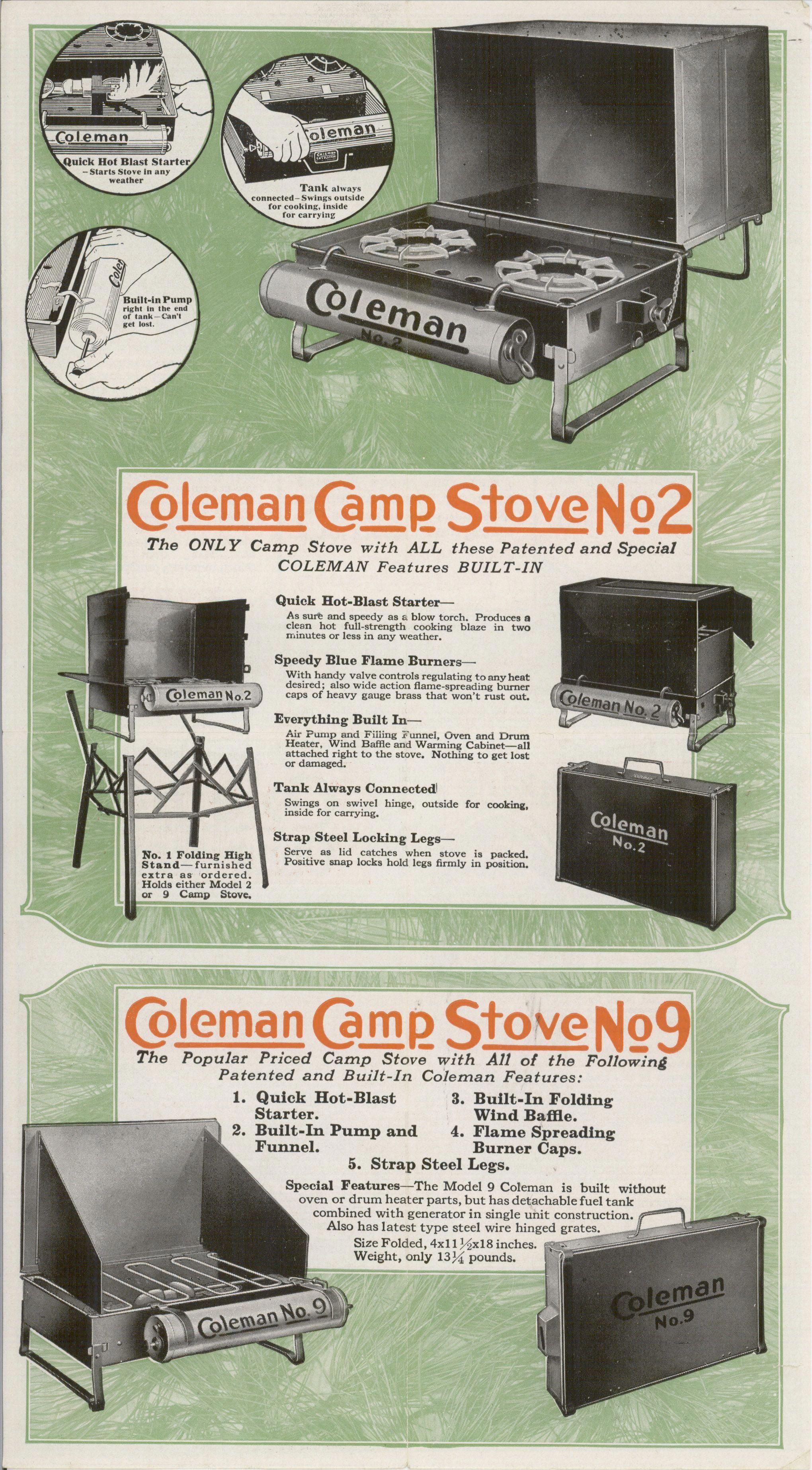 Santacruzcamping Camping Stove Best Camping Stove Coleman