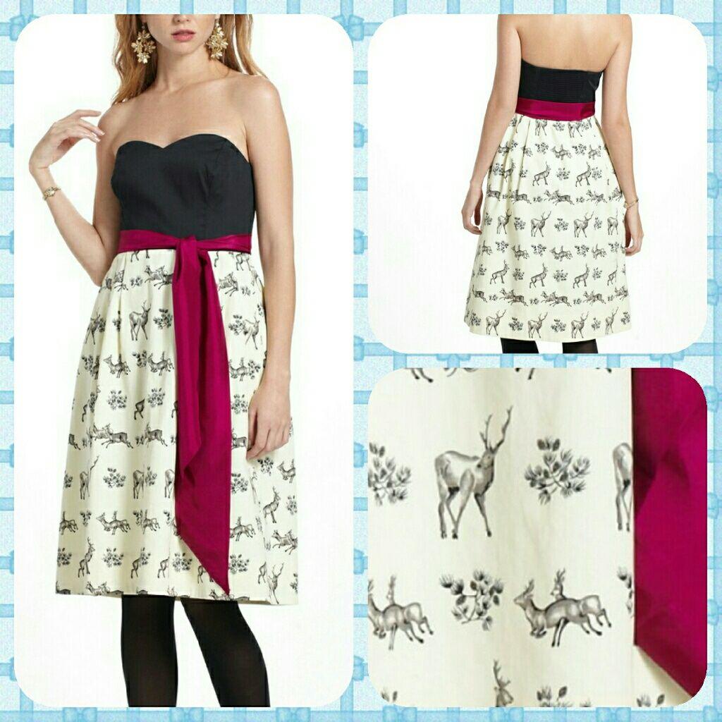 Anthropologie Conifer Herd Dress