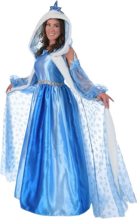 Women S Icelyn The Winter Princess Costume Party City
