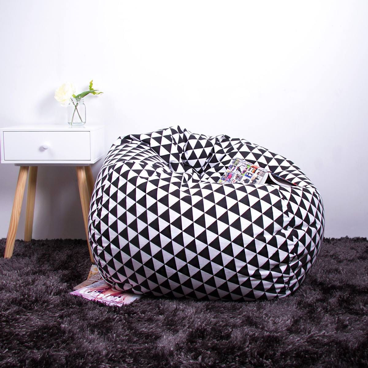 Fine New Bean Bag At Kmart Kmart Aus Home Styling Kmart Ibusinesslaw Wood Chair Design Ideas Ibusinesslaworg
