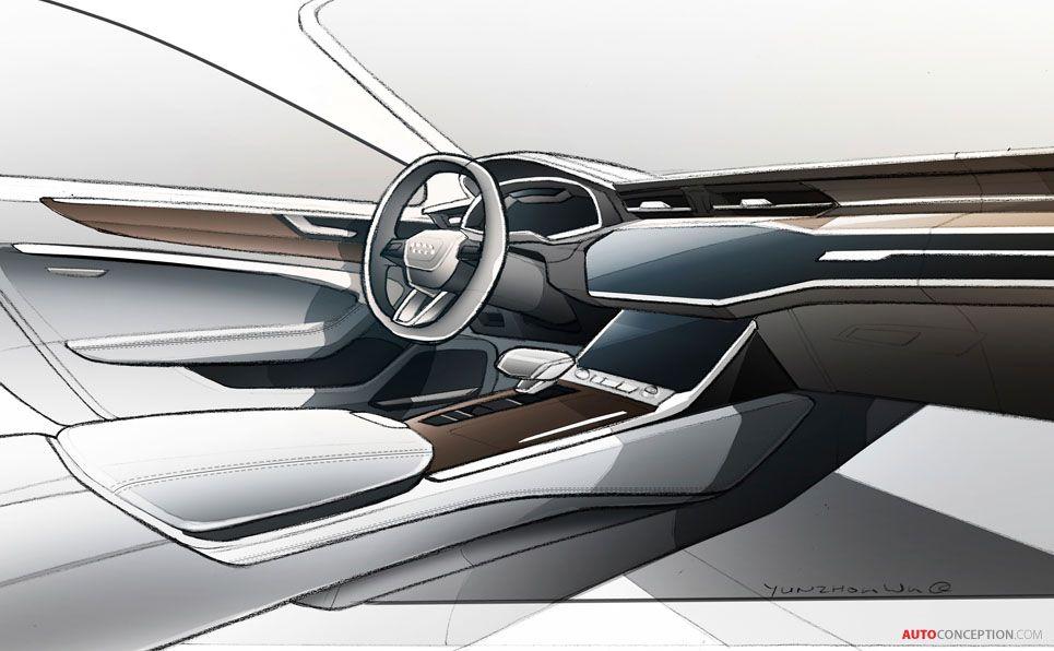 new audi a7 sportback unveiled dessin voiture dessin. Black Bedroom Furniture Sets. Home Design Ideas