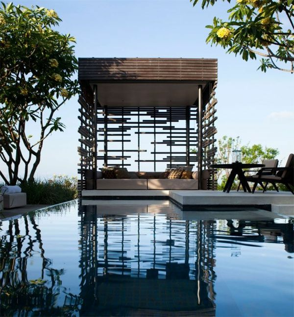 garten pavillon holz am pool Gartengestaltung u2013 Garten und