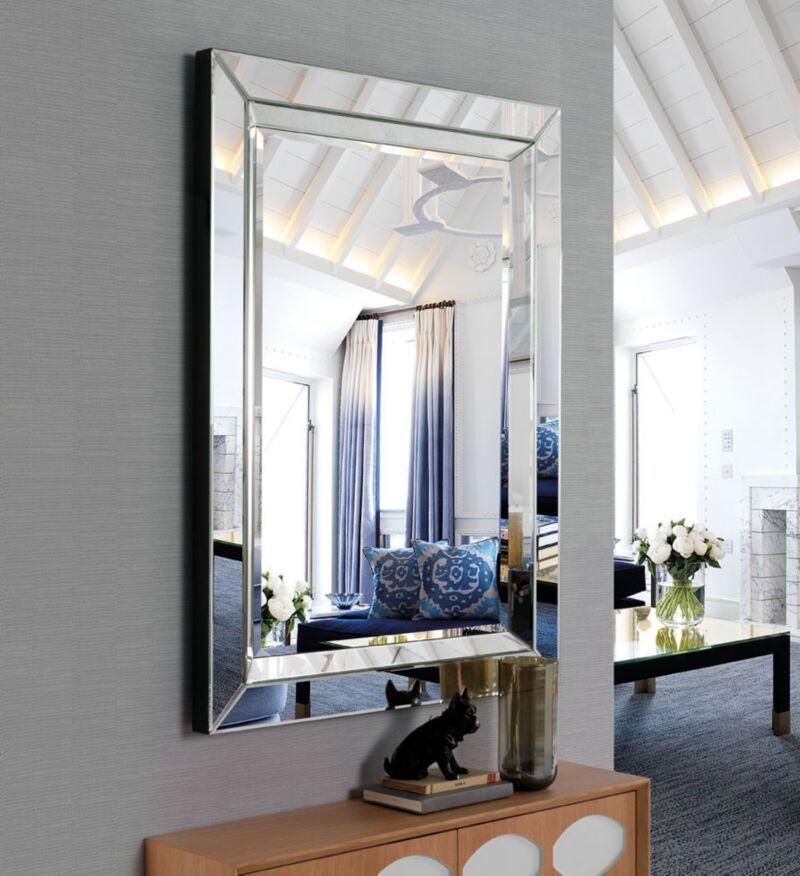 Espejos espejo moderno manhattan 3 decoraci n gim nez for Espejos decorativos baratos online