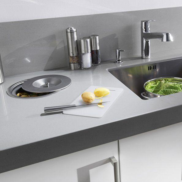 Credence Avec Poubelle Integree Lapeyre Cuisine Kitchen