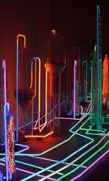 47+ Trendy Science Art Installation Spaces #lightartinstallation